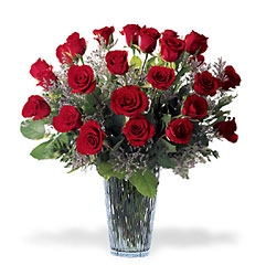 <b>Two Dozen Long Stem Roses</b> from Scott's House of Flowers in Lawton, OK
