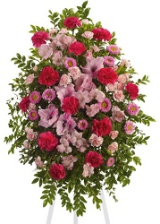 <b>Pink Tribute</b> from Scott's House of Flowers in Lawton, OK
