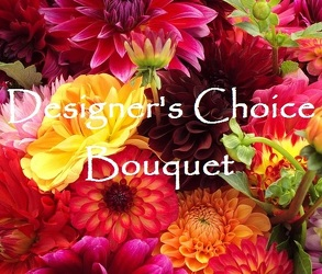 <b>Designer's Choice Bouquet</b> from Scott's House of Flowers in Lawton, OK