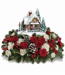 <b>Kinkade Kiss for Santa</b>