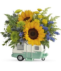 Retro Road Tripper Bouquet from Scott's House of Flowers in Lawton, OK
