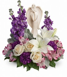 <b>Angel of Grace Bouquet</b> from Scott's House of Flowers in Lawton, OK