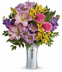 <b>Bright Life Bouquet</b> from Scott's House of Flowers in Lawton, OK