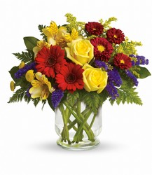 <b>Garden Parade Bouquet</b> from Scott's House of Flowers in Lawton, OK