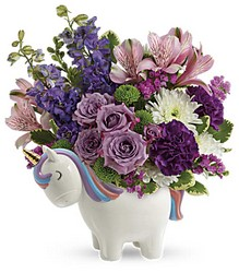 Magical Unicorn Bouquet from Scott's House of Flowers in Lawton, OK
