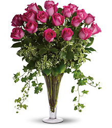 <b>Supreme Rose Arrangement</b> from Scott's House of Flowers in Lawton, OK