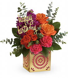 <b>Birthday Sparkle Bouquet</b> from Scott's House of Flowers in Lawton, OK