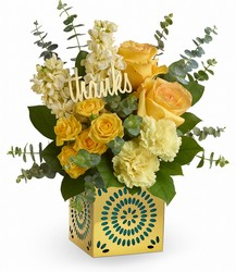 <b>Shimmer Of Thanks Bouquet</b> from Scott's House of Flowers in Lawton, OK