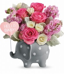 <b>Hello Sweet Baby - Pink</b> from Scott's House of Flowers in Lawton, OK
