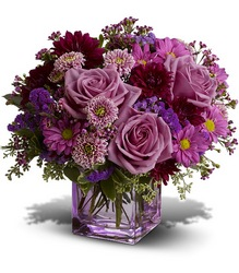 <b>Rosy Day Bouquet</b> from Scott's House of Flowers in Lawton, OK
