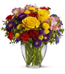 <b>Brighten Your Day</b> from Scott's House of Flowers in Lawton, OK